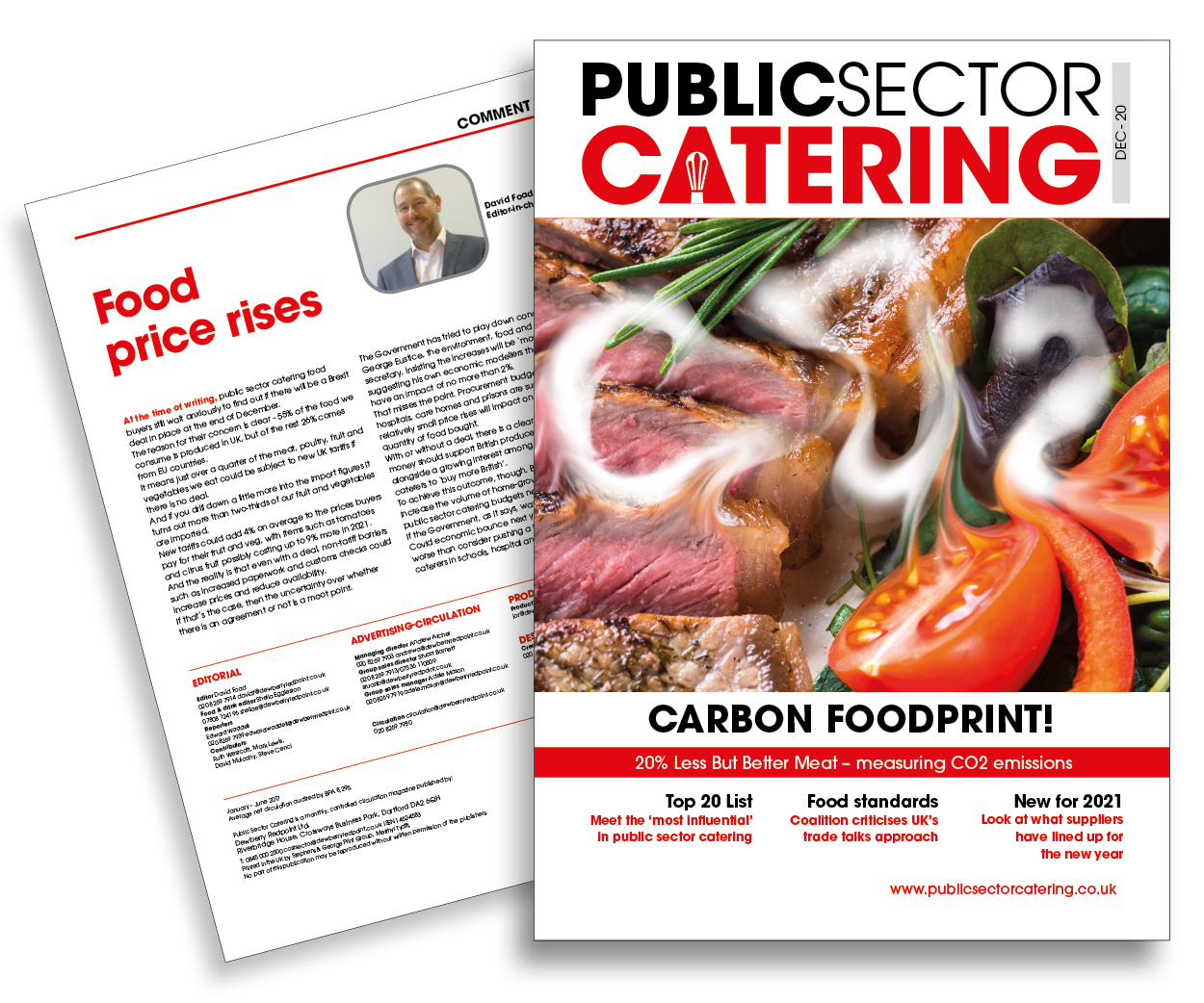 Public Sector Catering December