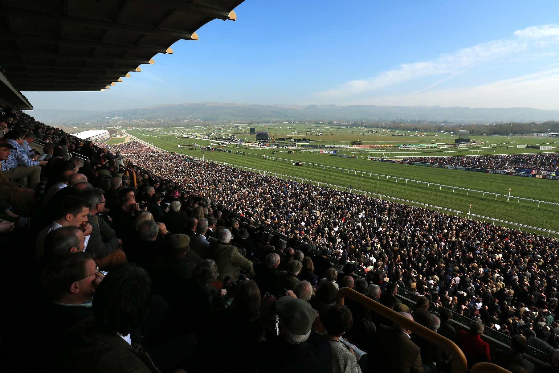 Trade Stands Cheltenham Festival : Making entertainment pay cost sector catering
