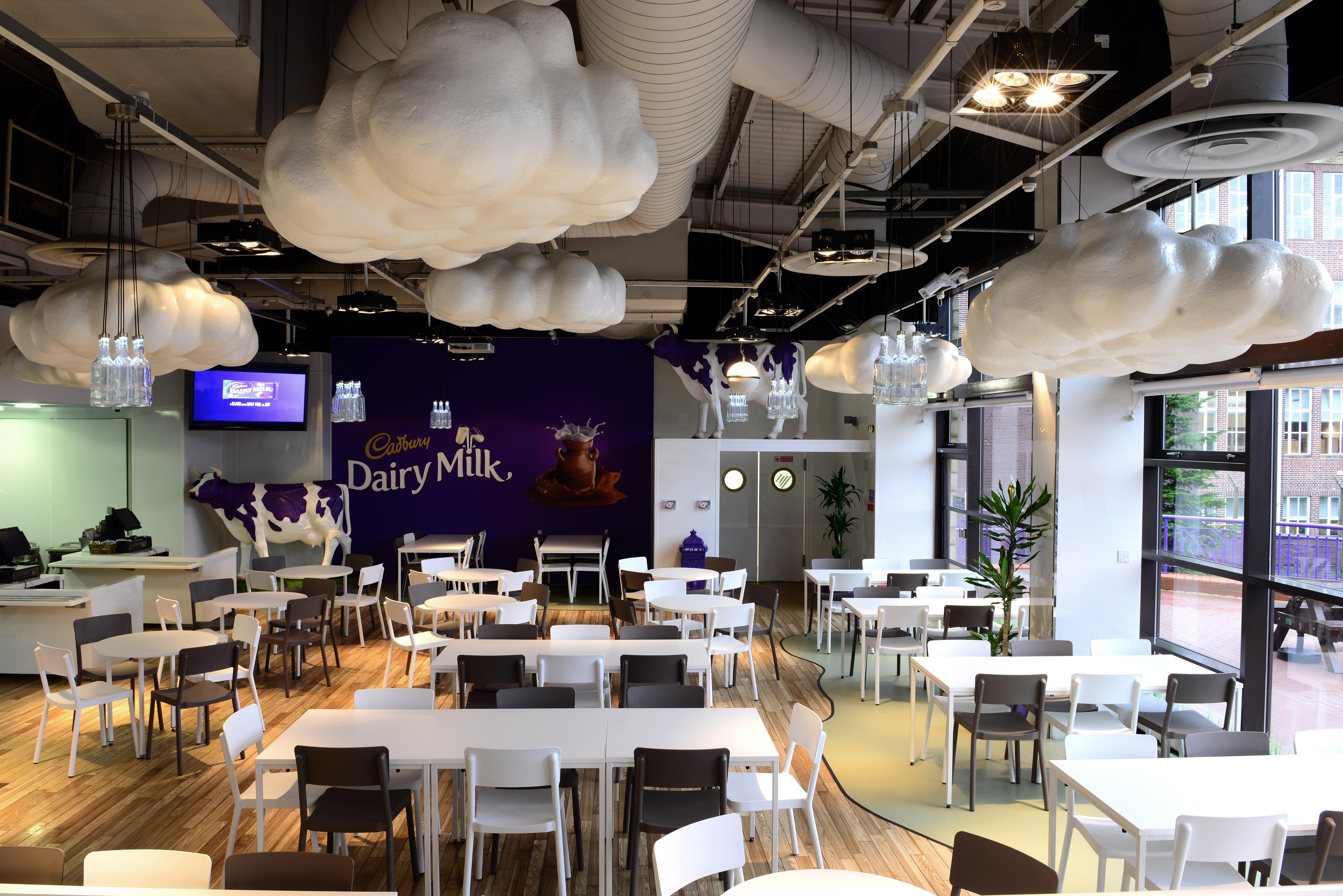 Cadbury World Cafe Menu