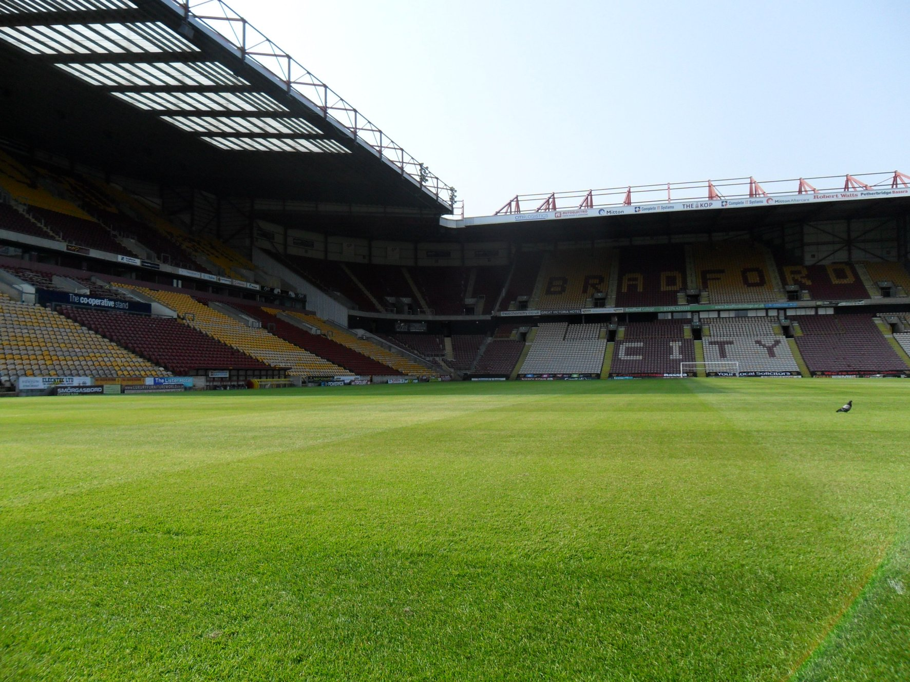 Bradford City FC awards Lindley Venue Catering £1.4m catering deal ...