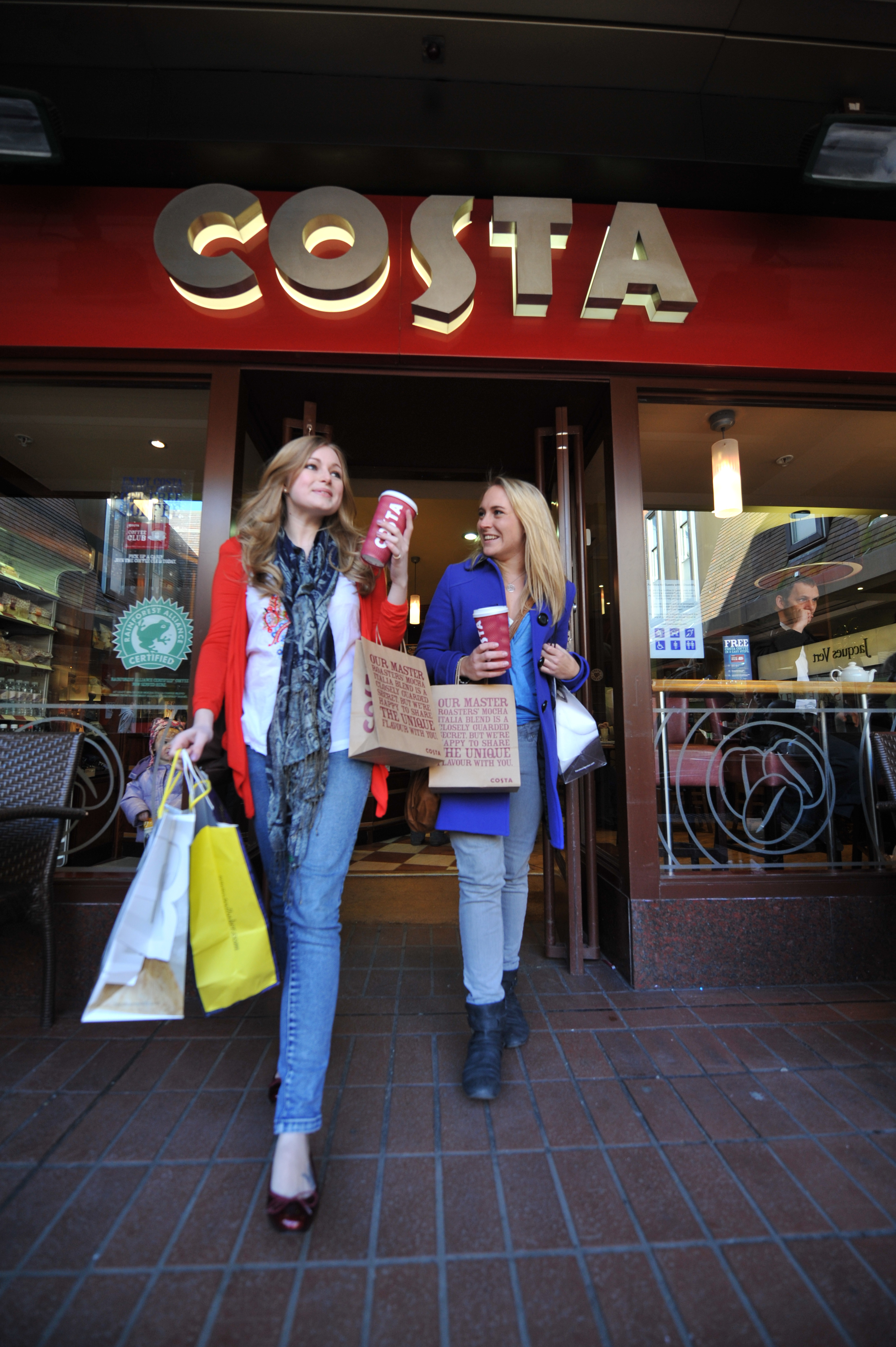 Costa To Trial Its Coffee Shops In Debenhams Department