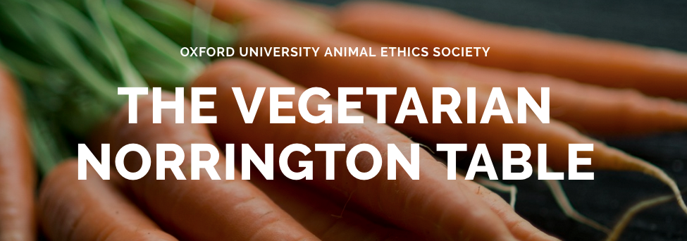 Oxford University Students Invited To Rank Vegetarian Food