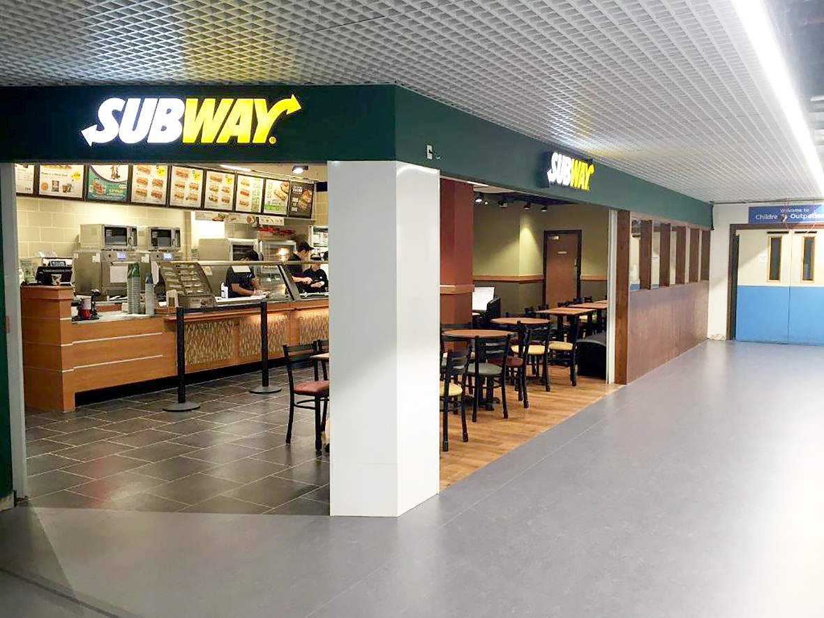 subway opens at university hospital southampton cost. Black Bedroom Furniture Sets. Home Design Ideas