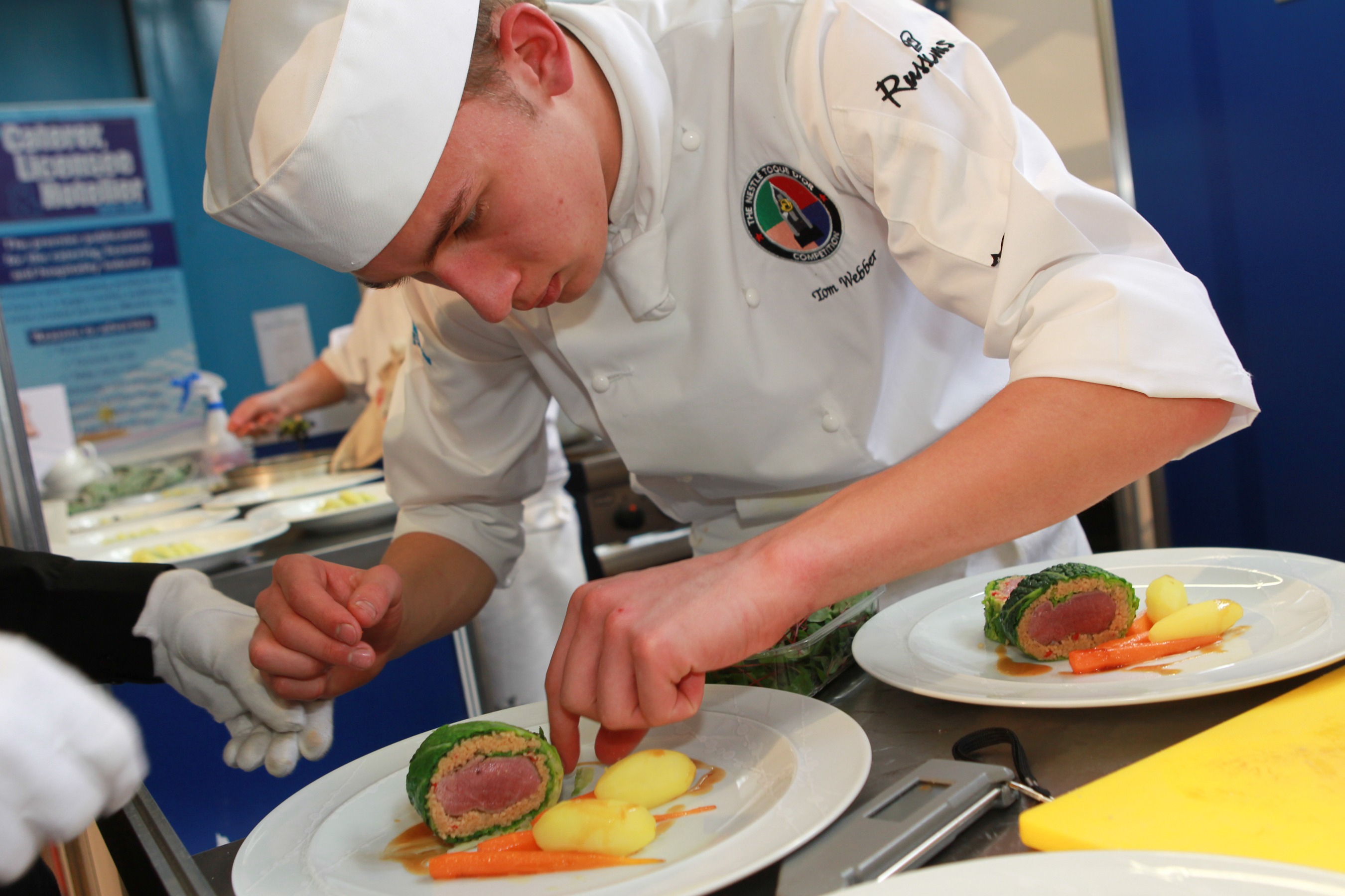 The craft guild of chefs wessex salon culinaire gets for Salon culinaire lille