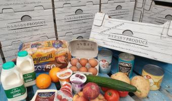 Norse & Barsby's school food boxes packed with nutritional, balanced lunch options, for one child, for five days