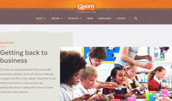 quorn school caterers covid-19 reopening foodservice hub