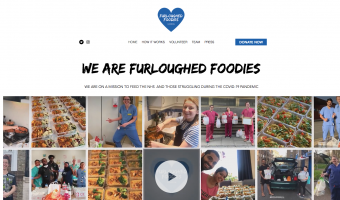 furloughed foodies london nhs feeding