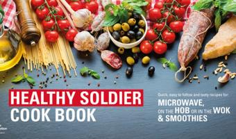 british army healthy eating cookbook soldier
