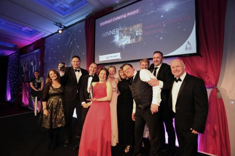 Hilary Witt and William Baxter honoured at Cost Sector Catering Awards 2017