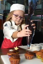 Elior grants Christmas wish to five-year-old aspiring chef