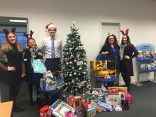 Sodexo staff join Mission Christmas charity drive