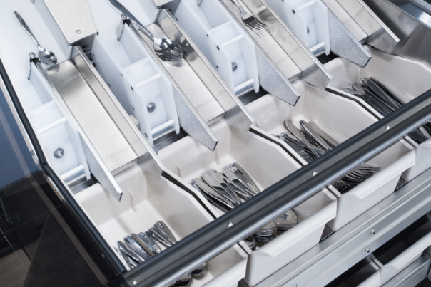 Wexiödisk is launching in the UK its automatic cutlery sorter, the ACS-800